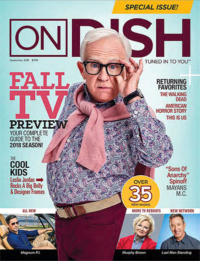 September 2018 OnDISH cover
